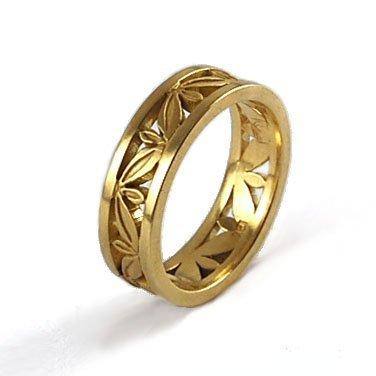 Wedding Rings Botanical Equinox Jewelers Portland Oregon