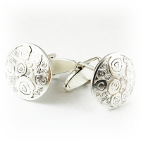 7.8007_Cuff_Links_Sterling_Silver_Nova