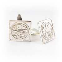 7.8008_Cuff_Links_Sterling_Silver_Haida_Raven