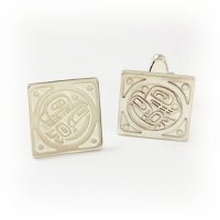 7.8015_Cuff_Links_Sterling_Silver_Orcas