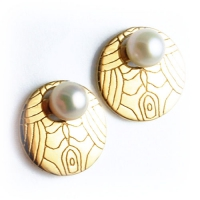 7.7040_Earring_Jackets_Gold_Murano
