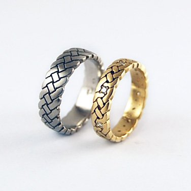 Wedding Rings Harmonic Pairings Equinox Jewelers Portland Oregon