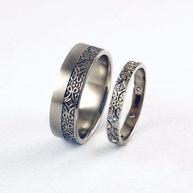 wedding rings harmonic pairings equinox jewelers