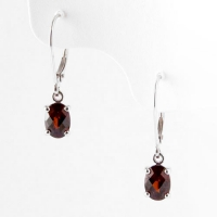 earrings_gold_garnet_dangle