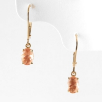 earrings_gold_pink_sunstone_dangle