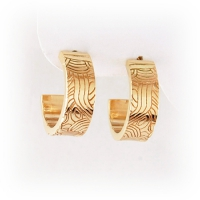7-7025_earrings_gold_murano_hoops