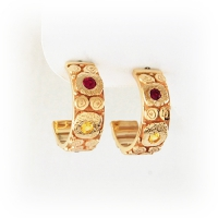 7-7028_earrings_gold_nova_hoops