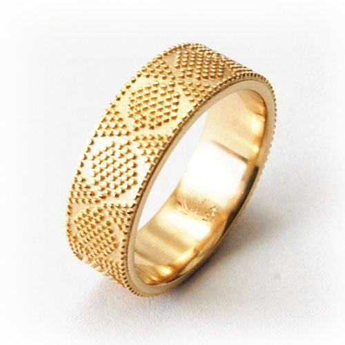 Wedding Rings Geometric Patterns Equinox Jewelers Portland Oregon