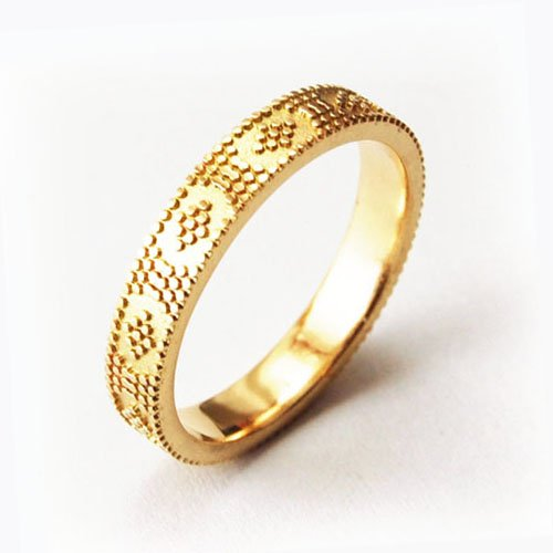 Wedding Rings Geometric Patterns Equinox Jewelers Portland Oregon