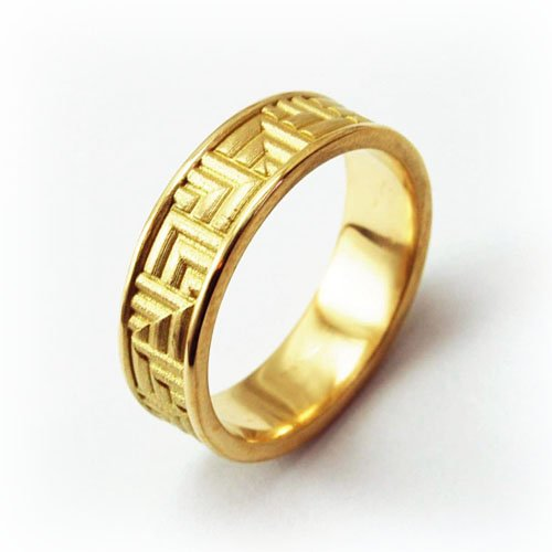 Wedding Rings Geometric Patterns Equinox Jewelers