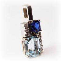 Pendant_Custom_Gold_Sapphire_Aquamarine