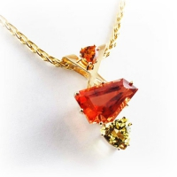 Pendant_Custom_Gold_Sunstone_Peridot