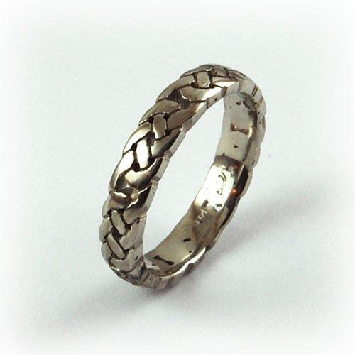 Wedding Rings Woven Looks Equinox Jewelers Portland Oregon