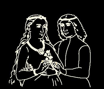 Mary of Burgundy and Archduke Maximillian